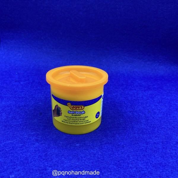 Plastilina Soft Dough naranja para modelar y jugar manualidades