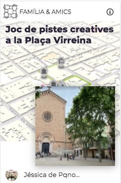 juego pistas pqno plaça virreina explorins
