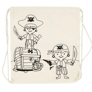 mochila cuerdas piratas cofre pirata manualidades para pintar