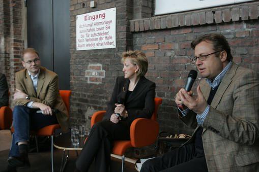 Diskussionsrunde beim 3. PR Lounge Special