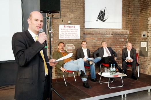 Beim Journalistentag DJV-NRW, Foto: Udo Geisler