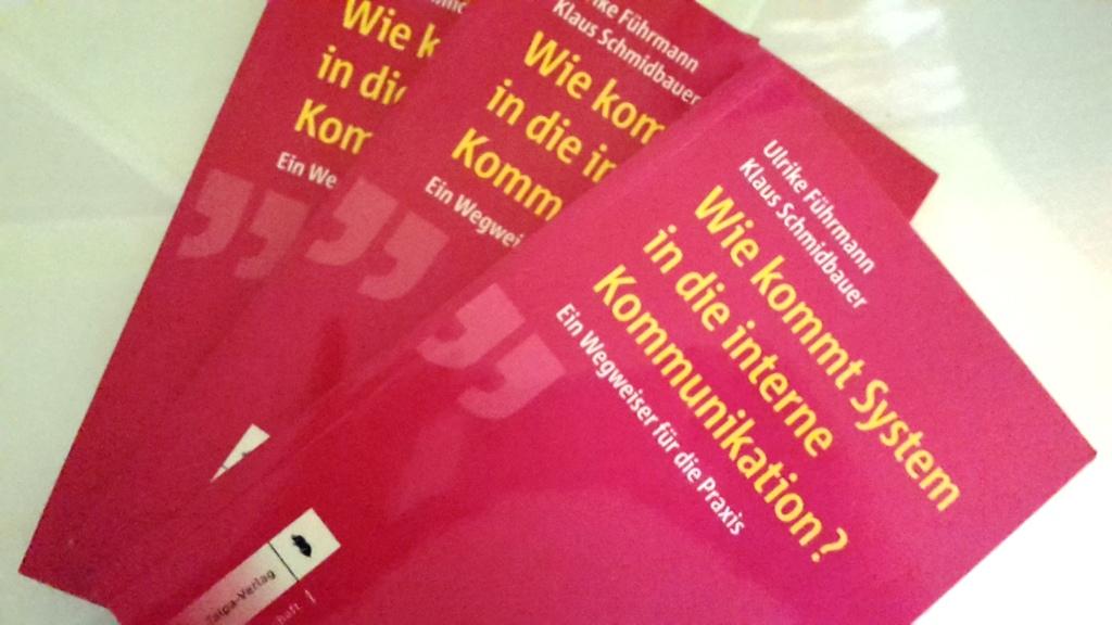 Wie kommt System in die interne Kommunikation? - Rezension des Ratgebers auf pr-perlen.de