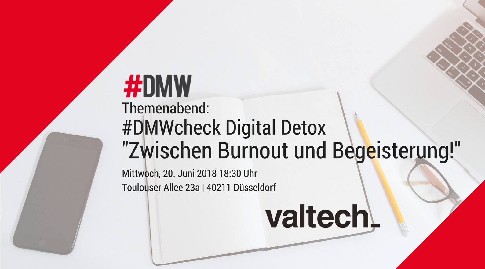 Digital Media Womwn, valtech_ Düsseldorf, Themenabend Digital Detox