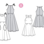 Выкройка Burda №6311 — Платье, сарафан