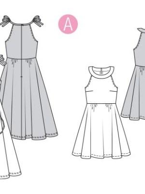 Выкройка Burda  6311 — Платье, сарафан