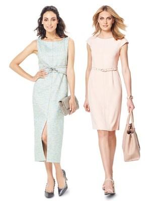 Выкройка Burda №6320 — Платье-футляр