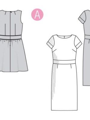 Выкройка Burda №6339 — Летнее хлопковое или льняное платье