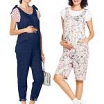 Выкройка Burda  6348 — Удобный летний комбинезон для будущих мам