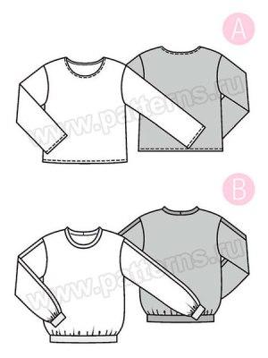 Выкройка Burda  6355 — Блуза