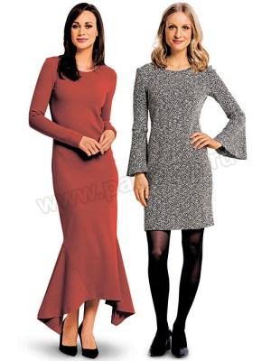Выкройка Burda №6364 — Платье