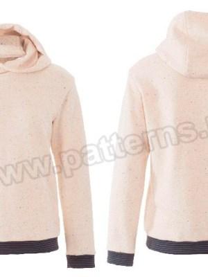 Выкройка Burda №6406 — Пуловер