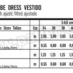 Выкройка Burda №6421 — Платье