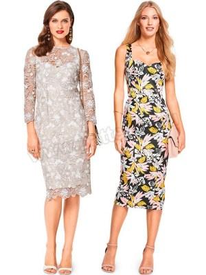 Выкройка Burda №6423 — Платье