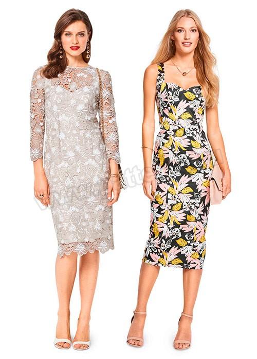 Кружевные платья и платья с кружевными вставками