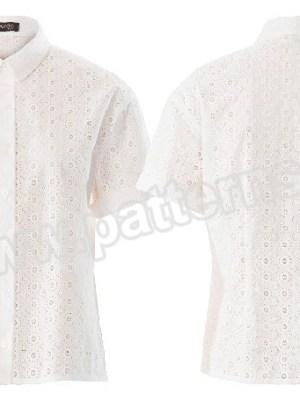 Выкройка Burda  6426 — Блузка-рубашка