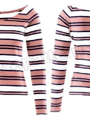 Выкройка Burda №6428 — Топ с воланом, пуловер