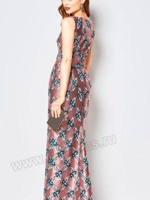 Выкройка Burda №6441 — Вечернее платье