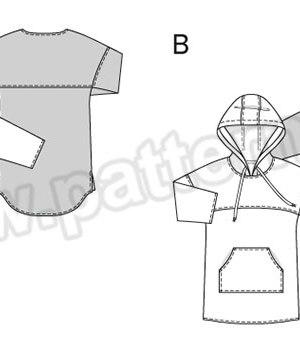 Выкройка Burda №6475 — Платье