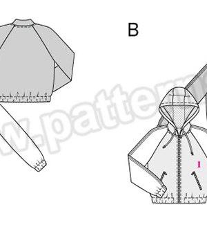 Выкройка Burda №6478 — Жакет, Спортивная куртка