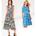 Выкройка Burda №6497 — Платье