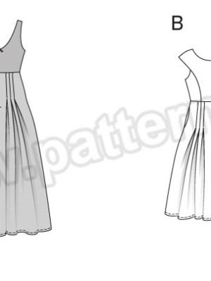 Выкройка Burda №6584 — Вечернее платье