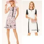 Выкройка Burda №6642 — Платье