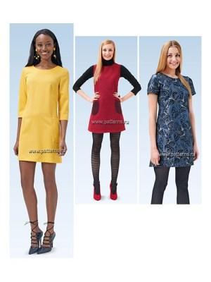 Выкройка Burda №6721 — Платье