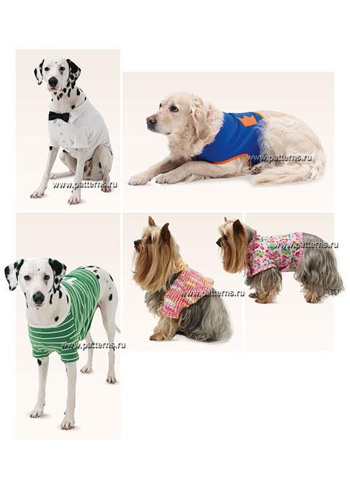 Выкройка Burda №6753 — Одежда для собак