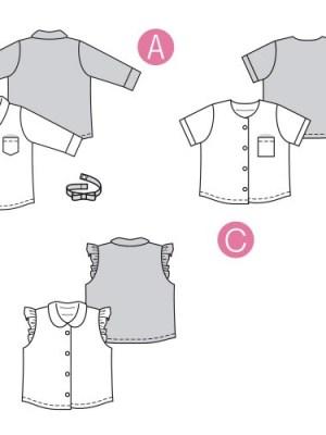 Выкройка Burda №9318 — Рубашка