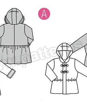 Выкройка Burda №9329 — Жакет, пальто