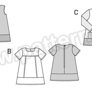 Выкройка Burda №9380 — Платье