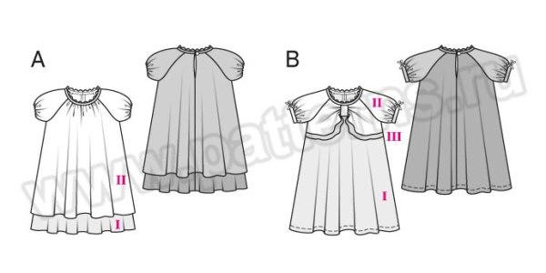 Выкройка Burda №9400 — Платье
