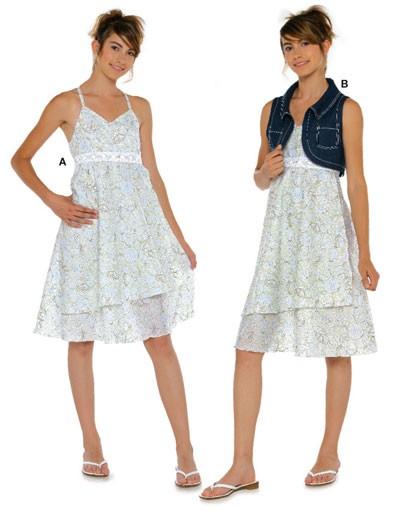 Платья с отделкой узким кружевом