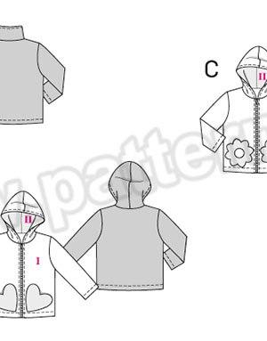 Выкройка Burda №9425 — Курточка