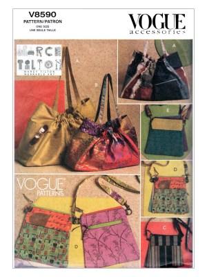 Выкройка Vogue №8590 — Сумки от Marcy Tilton