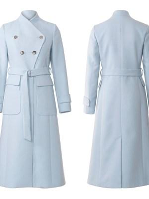 Выкройка Burda №6290 — Пальто-редингот