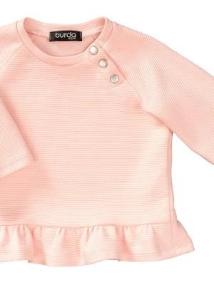 Выкройка Burda  9312 — Комплект (штанишки + свитер)