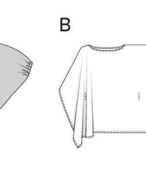 Выкройка Burda  6935 — Рубашка, кафтан, туника