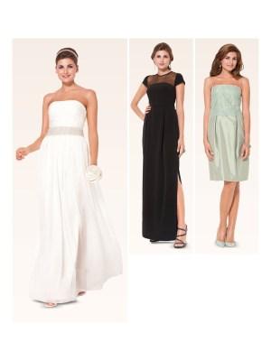 Выкройка Burda  6940 — Вечернее платье, свадебное платье, кружевной топ