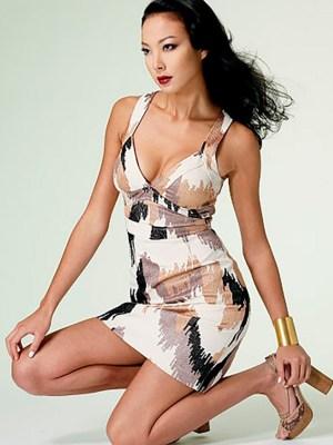 Выкройка Vogue №1286 — Платье-сарафан от Tracy Reese