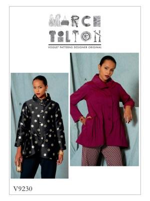 Выкройка Vogue №9230 — Куртка от Marcy Tilton