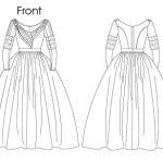Выкройка Butterick — Историческое платье 1837-1840 - B5832