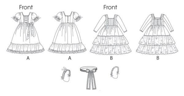 Выкройка Butterick — Карнавальное платье - B5900 ()