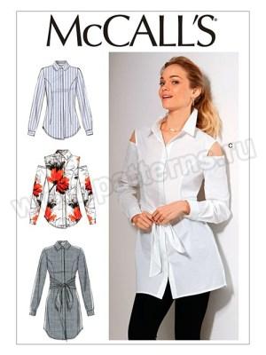 Выкройка McCall's — Блузка, Рубашка - M7546 ()
