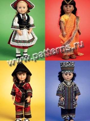Выкройка McCall's №6855 — Одежда для куклы