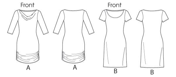 Выкройка McCall's — Платье - M6724 ()