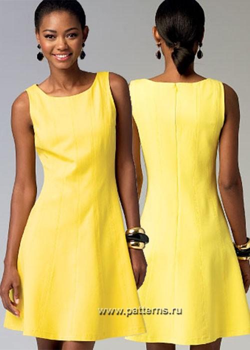 Выкройка McCall's — Платье - M6889 ()