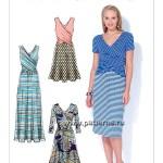 Выкройка McCall's — Платье - M7319 ()