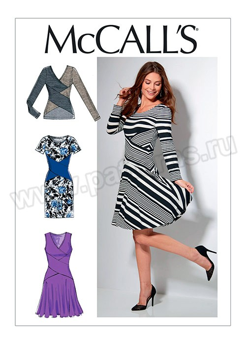 Выкройка McCall's — Платье, Пуловер - M7538