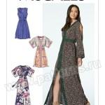 Выкройка McCall's — Платье с декоративной отделкой - M7624